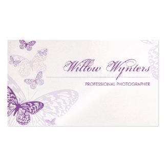 CARTÃO DE VISITA:: borboletas 3L Cartão De Visita