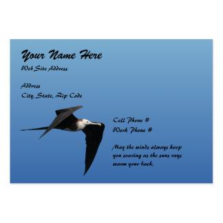 Cartão de visita carnudo das ave marinho 04