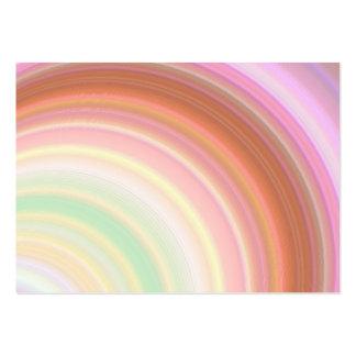 Cartão de visita carnudo das cores