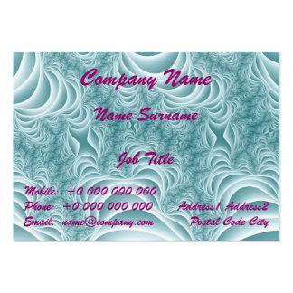 Cartão de visita carnudo enraizado