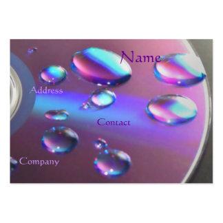 Cartão de visita CD do DJ - customizável