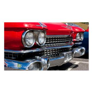 Cartão de visita clássico do Restorer do carro