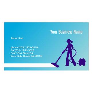 Cartão de visita criativo da limpeza