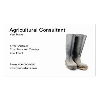 Cartão de visita da agricultura