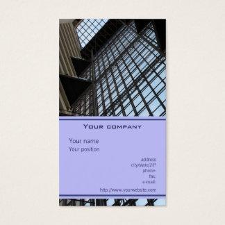 """Cartão de visita da """"arquitetura"""""""