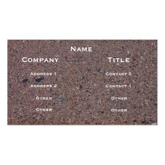 Cartão de visita da imagem do asfalto