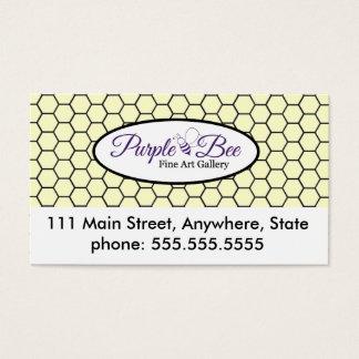 Cartão de visita da referência
