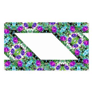 Cartão de visita de jardinagem florido 2 das