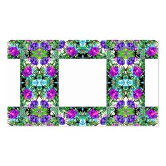 Cartão de visita de jardinagem florido 3 das