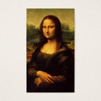 Cartão de visita de Mona Lisa