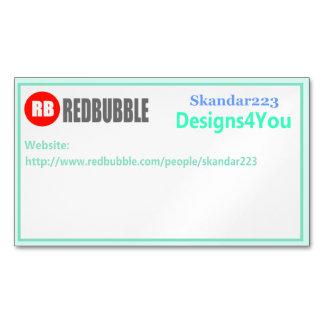 Cartão de visita de Redbubble