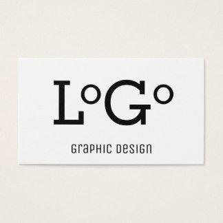 Cartão de visita do design gráfico
