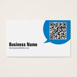 Cartão de visita do engenheiro civil da bolha da