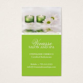 Cartão de visita do Esthetician