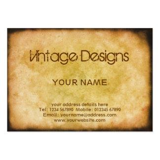 Cartão de visita do Grunge do vintage