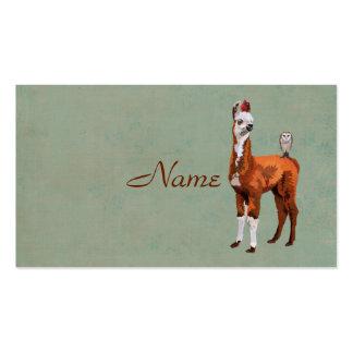 Cartão de visita do LAMA & das PENAS