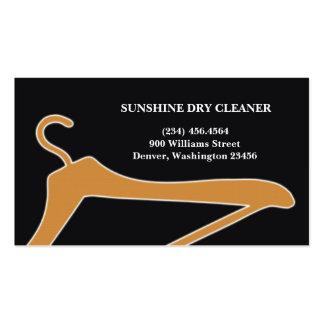 Cartão de visita do líquido de limpeza