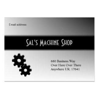Cartão de visita do mecânico/máquina