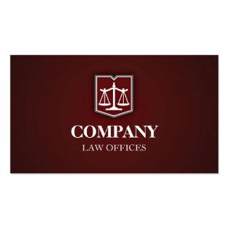 Cartão de visita do profissional da empresa de adv