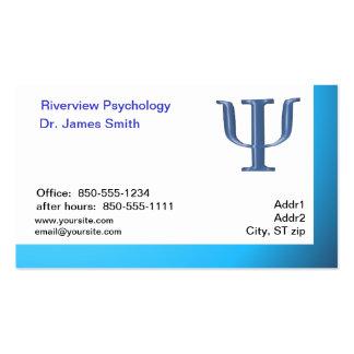 Cartão de visita do psicólogo