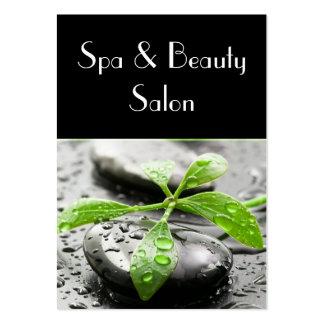 Cartão de visita do salão de beleza de Spa&Beauty