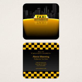 cartão de visita do taxista