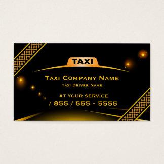 Cartão de visita do taxista de Táxi Empresa