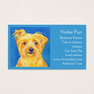 """Cartão de visita do yorkshire terrier - """"Sammy """""""