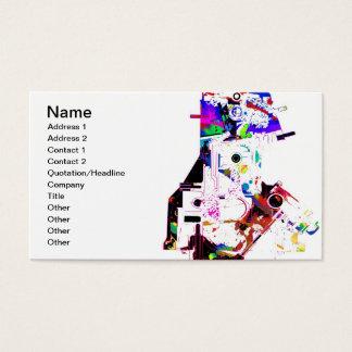Cartão de visita dos mecânicos