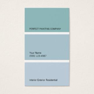 Cartão de visita dos pintores