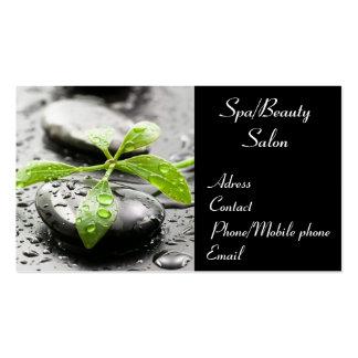 Cartão de visita dos termas/salão de beleza