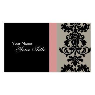 Cartão de visita elegante
