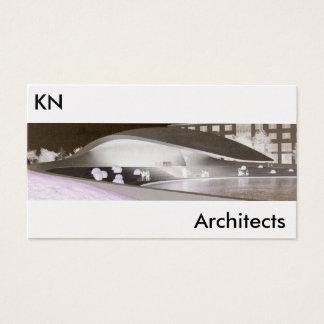 cartão de visita elegante da arquitetura da