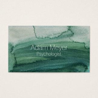 Cartão de visita elegante da textura abstrata da