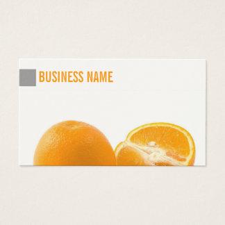 Cartão de visita fresco suculento simples das
