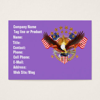 Cartão de visita Horz do espírito 2 de América.
