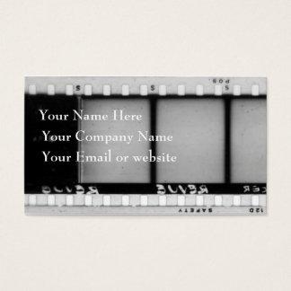 Cartão de visita II de Filmstrip do vintage