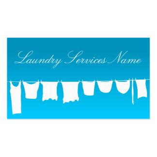 Cartão de visita legal dos serviços de lavanderia