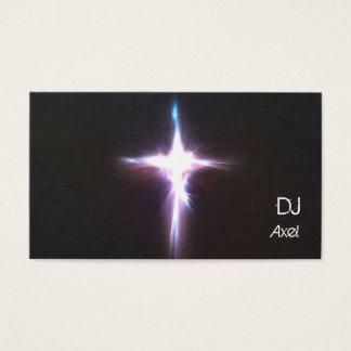 Cartão de visita leve de Burt DJ