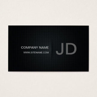 Cartão de visita minimalista do estilo do