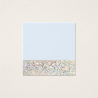 Cartão de visita minimalista do primavera
