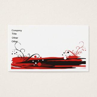 Cartão de visita oriental