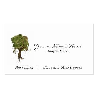 """""""Cartão de visita pela árvore"""" Cartão De Visita"""