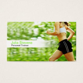 Cartões de visita para personal trainers na Zazzle