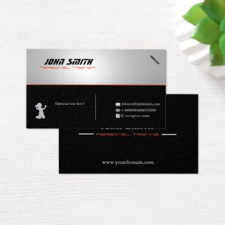 Cartão de visita pessoal do instrutor de