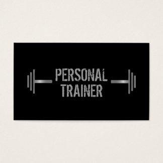 Cartão de visita pessoal profissional do instrutor