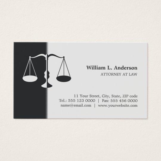 Cartão de visita profissional (cinzento) do