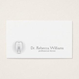Cartão de visita profissional do dentista