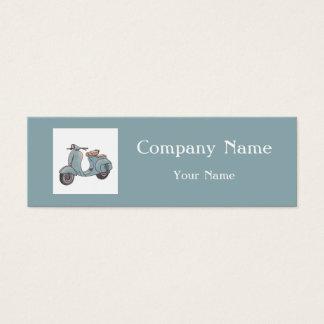 Cartão de visita profissional do mecânico da