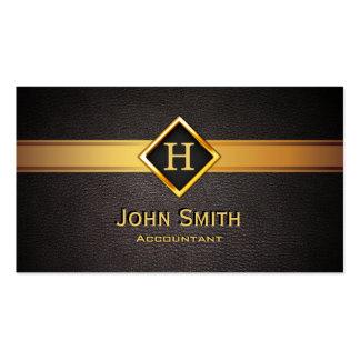 Cartões de visitas com monograma - iniciais do nome.